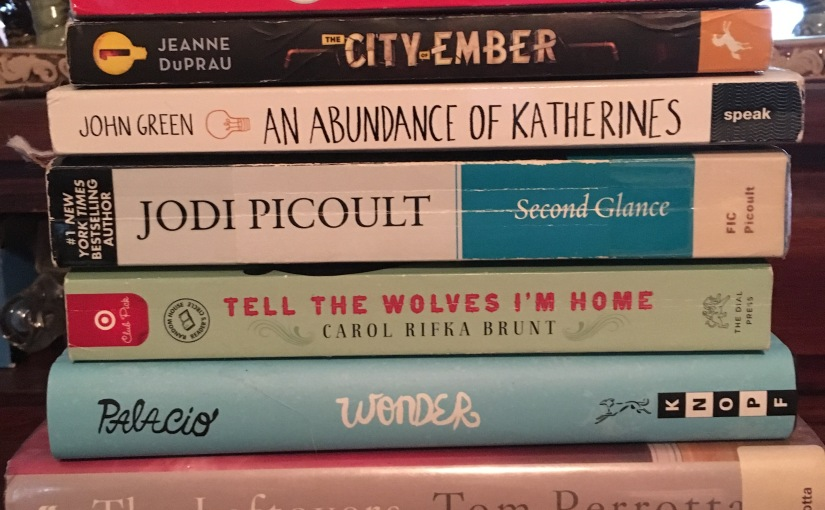 My Summer 2017 Reading List